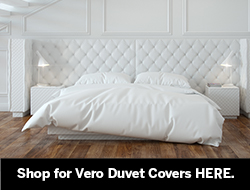 Luxury cotton duvet covers