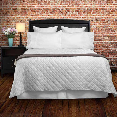 Luxury Quilted Coverlets for the top of your bed