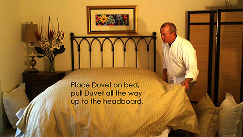 Follow these easy steps to help you make a great looking bed
