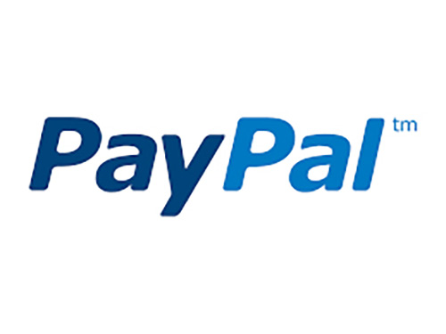 We accept Pay Pal