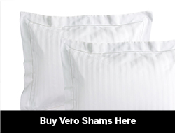 Italian Pillow Shams king, standard & Euro sizes