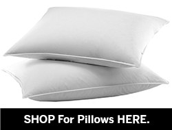 Shop for Down Pillows here