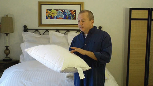 Pillow protectors can keep your pillows cleaner