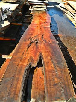 """Cypress Slab CP-12 3""""x27""""-42""""x168"""" - wood slab"""