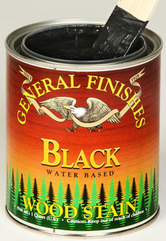 Water Based Wood Stain - Black