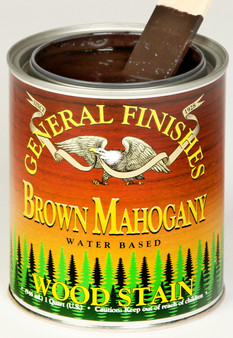 Water Based Wood Stain - Brown Mahogany