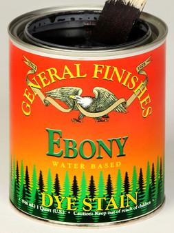 Water Based Dye Stain - Ebony