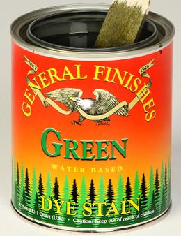 Water Based Dye Stain - Green