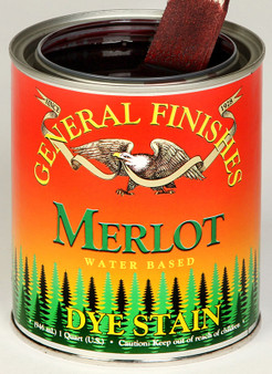Water Based Dye Stain - Merlot