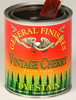 Water Based Dye Stain - Vintage Cherry
