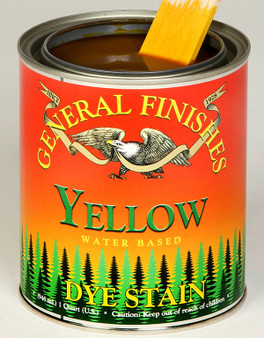 Water Based Dye Stain - Yellow