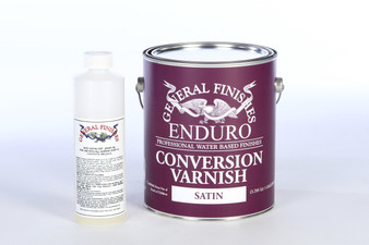 Water Based Enduro Conversion Varnish w/ NCO Catalyst