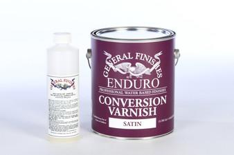 Water Based Enduro Conversion Varnish w/ NCO Catalyst