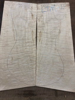"LTM-11 Flamed Maple 10""x20.5""x.25"""