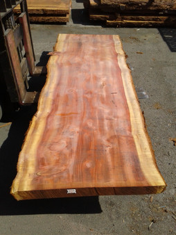 "Sequoia Redwood Slab (GWS-646) 3""x35""x115"""