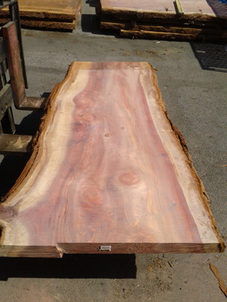 "Sequioa Redwood Slab (GWS-648) 3""x37""x91"""