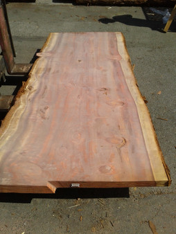 "Sequioa Redwood Slab (GWS-650) 3""x41""x91"""