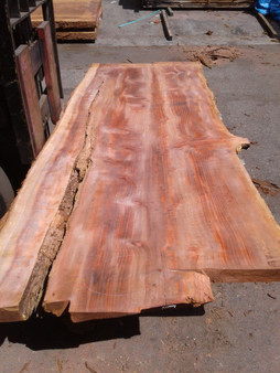 "Sequioa Redwood Slab (GWS-657) 3""x43""x96"""
