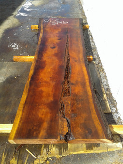 "Redwood Slab GWS-270 3""x30""-37""x109"""