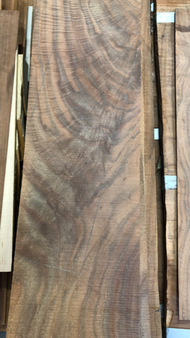 Walnut Veneer  - heavily figured feather crotch - GWS-WNVR-555