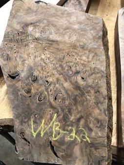"""Walnut Burl Billet  WBB-22   (2"""" x 10"""" x  18"""")"""