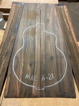 Macassar Ebony   MAC A-21
