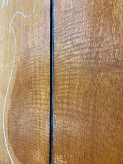 Honduran Mahogany  (F/back & Ribbon Grain Figure)  MPG-20