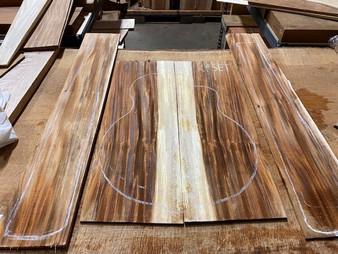 Koa Fijian  Acoustic Set    KFSET-1
