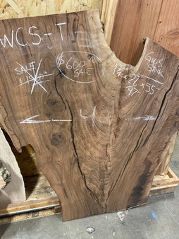 Walnut Crotch Slab   WCS-T