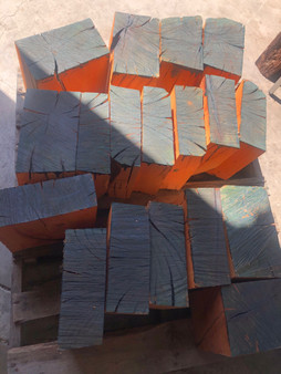 Pallet of Madrone Turning Blocks   MDR/pallet 1