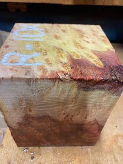 """Redwood Burl  Turning Block  R-10x  (4.5"""" x 5"""" x 6"""")"""