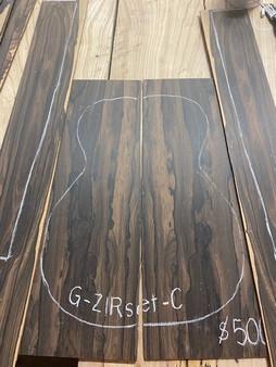 Guitar S & B   in Ziricote    G-ZIRset-C