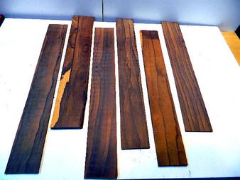 Ziricote Fingerboards