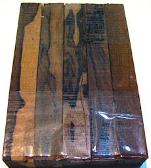 Ziricote Pen Blanks (¾ x ¾ x 5)