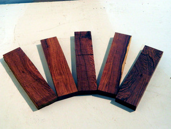 "Honduran Rosewood Bridge Blanks (½"" x 1¾"" x 7"")"