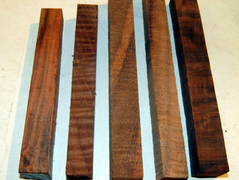 "Claro Walnut Pen Blanks (¾"" x ¾"" x 5"")"