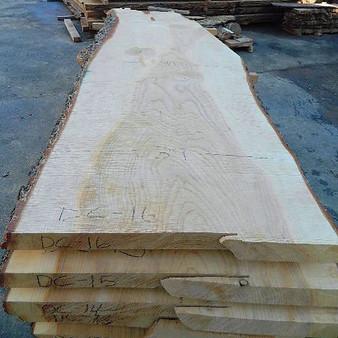 Deodara Cedar Slab DC-16 (3 x 35-41 x 111) - wood slab