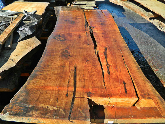 "Cypress Slab CP-2 3½""x45""x107"" - wood slab"