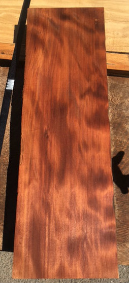"""Old Growth Curly Redwood. Milled in 1948. 7.5"""" x 24"""" x 2"""""""