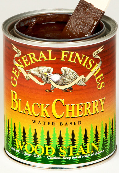 Water Based Wood Stain - Black Cherry