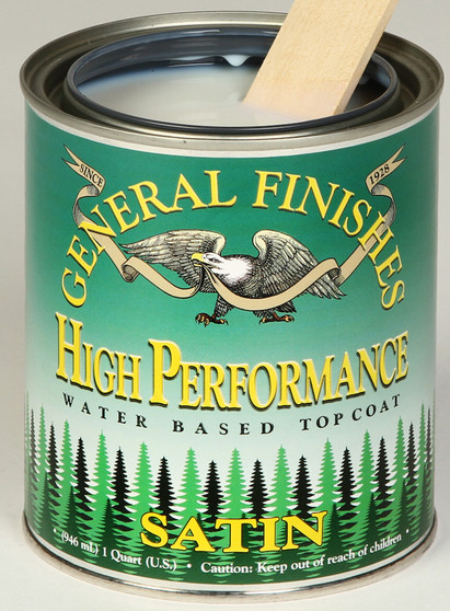High Performance Top Coat Finish