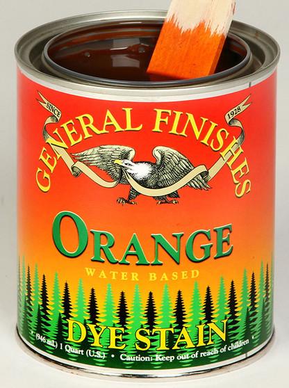 Water Based Dye Stain - Orange
