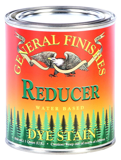 Water Based Dye Stain - Reducer