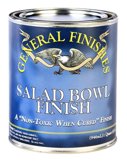 Salad Bowl Finish Top Coat