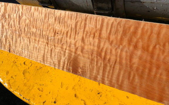 """Quilted Maple QMF-6 2.25""""x7.25""""x24"""""""