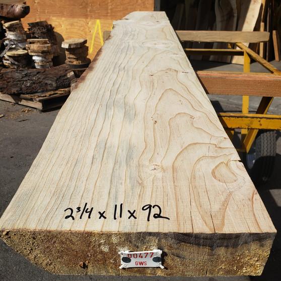 "Norwegian Spruce Mantle (2.25""x11""x92"")"