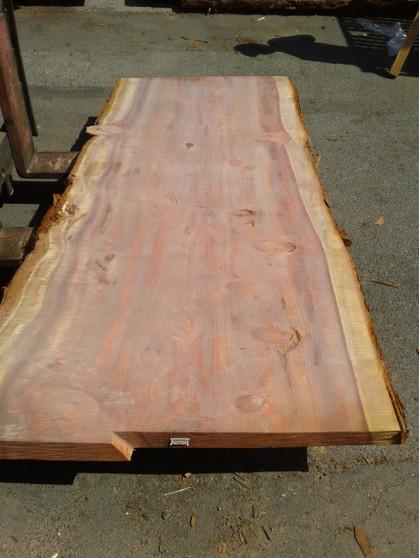 """Sequoia Redwood Slab (GWS-650) 3""""x41""""x91"""""""