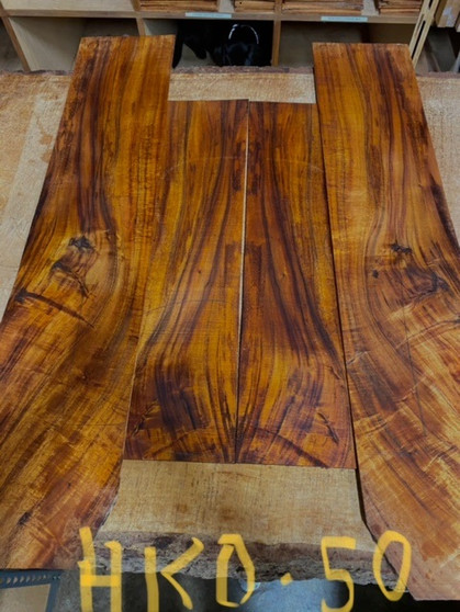 Hawaiian Koa   Guitar Set/Sides    HKO-50