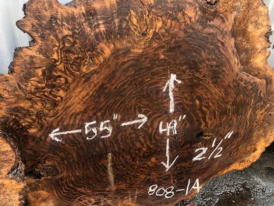 Walnut Round Slab    808-1A
