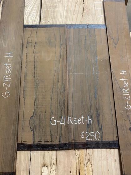 Guitar  S & B  in Ziricote   G-ZIRset-H